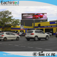 High quality waterproof BIG TV store outside led screen outdoor advertising p10 led display