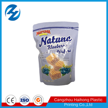 China Supplier Flexible Plastic Food Carrying Bag for candy nuts and bread
