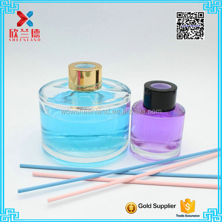 2016 Popular Classical Round scented reed diffuser bottle in Korea 200ml