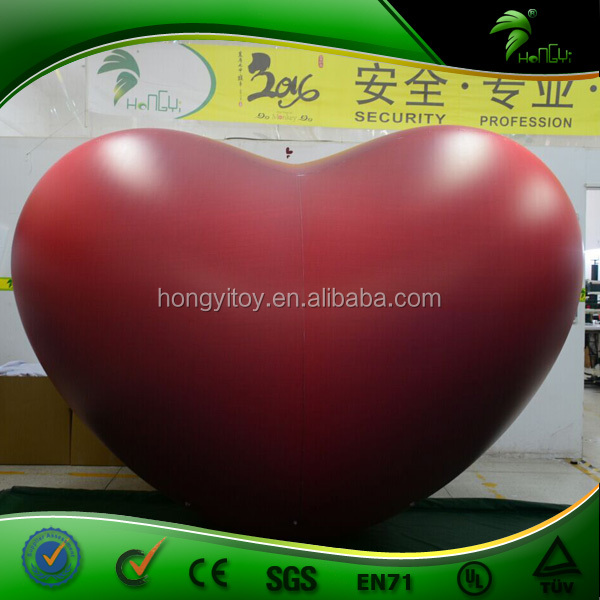 Hot Inflatable RED Heart Model Large Inflatable Heart for Advertising/promotion/Events