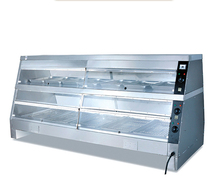 Restaurant food warmer showcase with large capacity / china cheap food warmer showcase / Commercial Food Hot Pizza Warmer