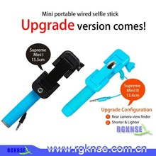 2016 Original rgknse factory supply new products pen size mobile phone channel selfie stick