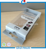 Custom made phone pvc box for iphone TPU case