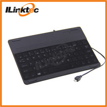 Ultra thin Micro USB wired backlit keyboard for Android Tablet, Smart phone
