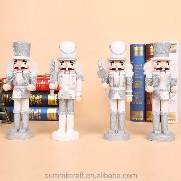 Wooden white soldier nutcracker trendy christmas gifts