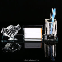 Crystal Pen Holder with Hand for Gifts