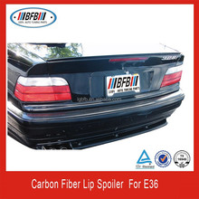 carbon fiber lip spoiler for BMW E36