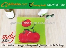 sell tempered glass cheese plate,murano glass decorative plate