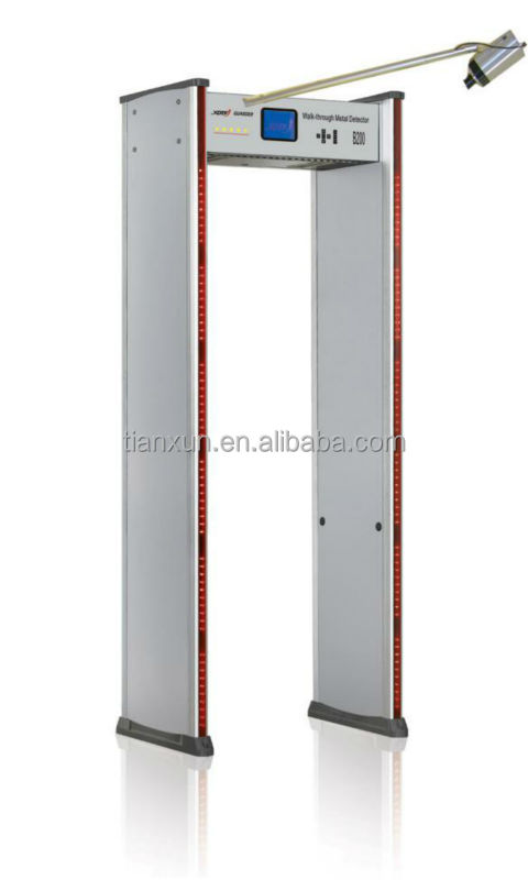 MD-600D waterproof walk through metal detector gate,airport security door