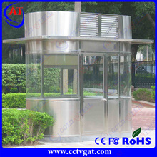 Anti-rust painted sandwich panel luxury portable booth sentry box shed zinc roof