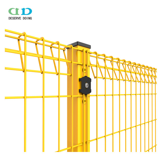 Quality Galvanised & Powder Coat Roll Top wire Panel mesh Fence / Wire Roll-Top Panel Fencing from DD-Fence