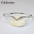 Wholesale Price High Polishing Bracelet Designs 925 Sterling Silver Bangle