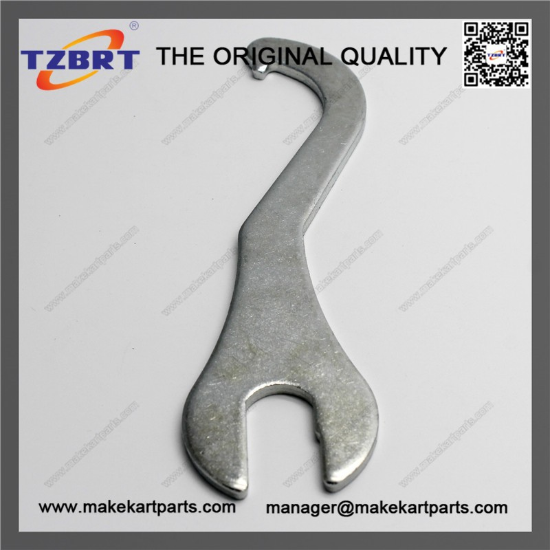 Adjustable C spanner tool hook wrench metal wrench