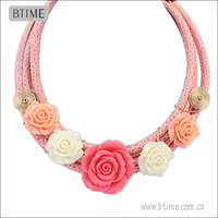 New Design Foam Material Flower Necklace