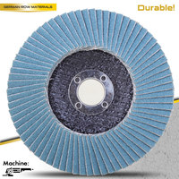 grinding metal/wood/stone/glass/furniture Aluminum Oxide, Calcined Abrasive Zirconia flap disc