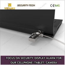 High end retail mechanical Anti-theft laptop security device
