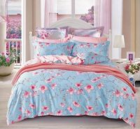 reactive printing 100% cotton bedding set /bed sheet/duvet cover