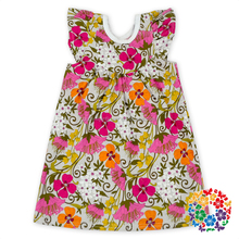 Wholesale Children Frocks Designs 1-6 Years Old Baby Girl Dress Flower Dresses For Girls