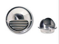Stainless steel ball weather louver for ventilation