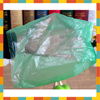 biodegradable cornstarch disposable pet waste trash bag with customized header card