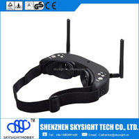 DHL Free shipping SKY01 Wireless All-In-One AIO FPV Video Goggles