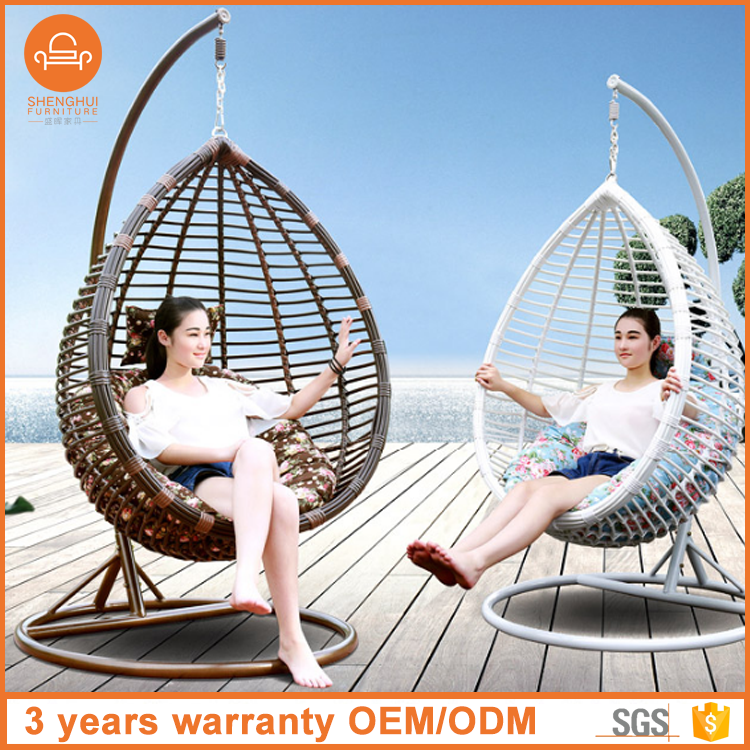 High Quality Cozy Egg Shape Hanging Swing Chair /Rattan Wicker Outdoor Furniture Buy Egg Chair