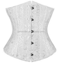 Waist Training Corsets and Bustiers Corset Underbust Gothic Corselet Sexy Body Shaper Black White espartilho