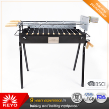New Product Square Charcoal Bbq Grills Spit Roaster