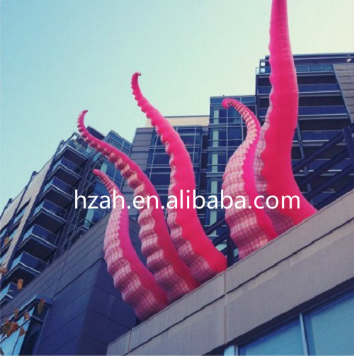 Inflatable Kraken Slide: Giant Artificial Inflatable Octopus Tentacles For