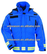 Reflective Mens Security Jacket