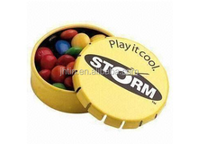 high quality Promotional Click Clack Mint Tin accept small order free sample
