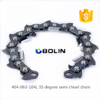 "BL27 Import technology 404""-104DL semi chisel chain chainsaw wood saw"
