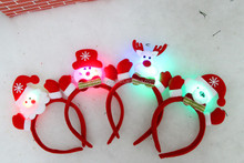 lighted flashing led christmas headbands