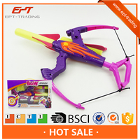 Toy bow and arrow, kids play bow and arrow,plastic bow and arrow