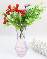 Fashion Foldable PVC Plastic Collapsible Flower Vase