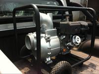 6 inch hard solids trash water pump driven by gasoline engine or diesel engine