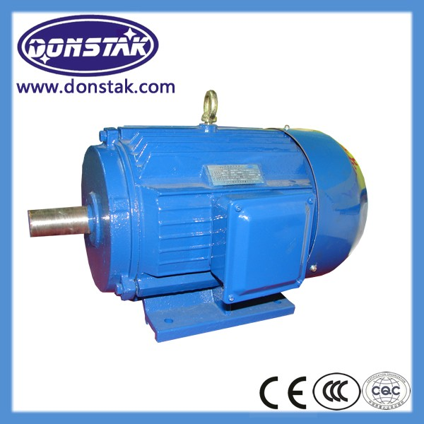 Class F ip54 IE1 high speed squirrel cage three phase ac Electric induction lv Motor
