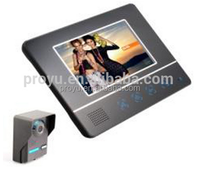 High Technology Factory Best Price Multiple Doorbell Ringtones 7inch Color TFT LCD good night vision Video Door Phone