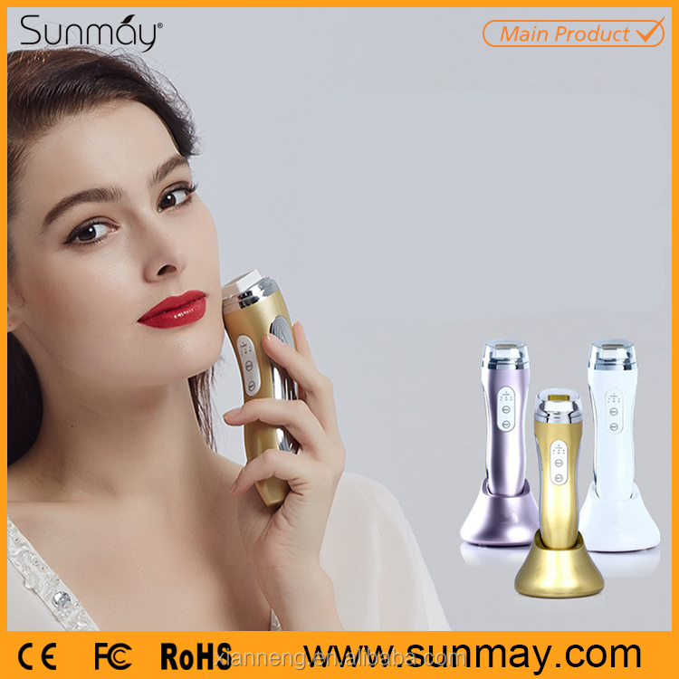 Portable advanced beauty products radio frequency facial care beauty device