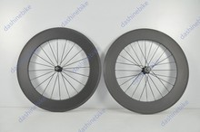 Dashine bike full carbon 88mm road wheels clincher carbon bike rims for sale