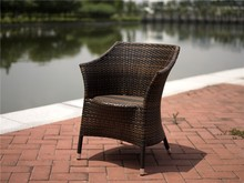 Ursula Best Seller Living Room Rattan Chair Anti-skidding Outdoor Armchair Dining Set
