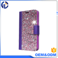 mi phone diamond cover case with wallet phone case for iphone 7 6