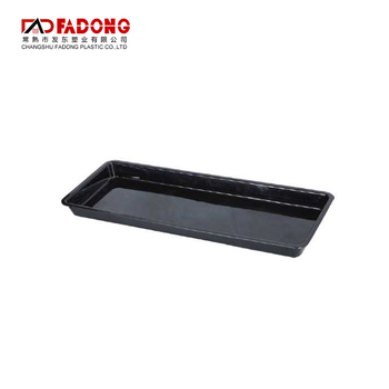 High Quality plastic fast food tray fresh plate for sale