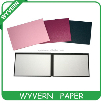 Colorful self-adhesive paper photo album for 4*6""