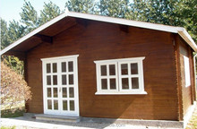 Easy-Assembled Prefabricated Wooden House For Living