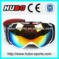 2014 newest design CE standard big brand wholesale ski googles