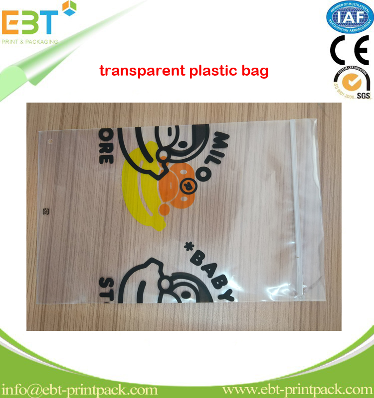 2017 high quality transparent opp bag Plastic Food Packaging Bag for Chips/Snacks from China factory