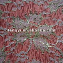 2012 New Design Metallic Lace Fabric