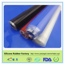 Food grade High tension silicone rubber sheet / flexible sheet
