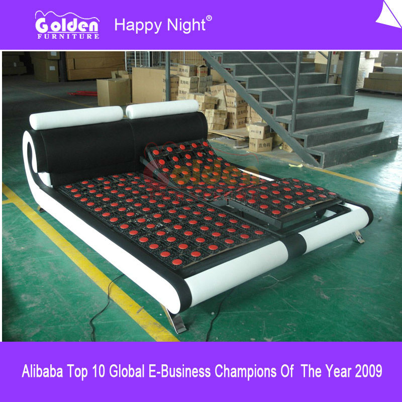 Alibaba Foshan Furniture Queen Electric Bed Warmer Cheap Price for Sale
